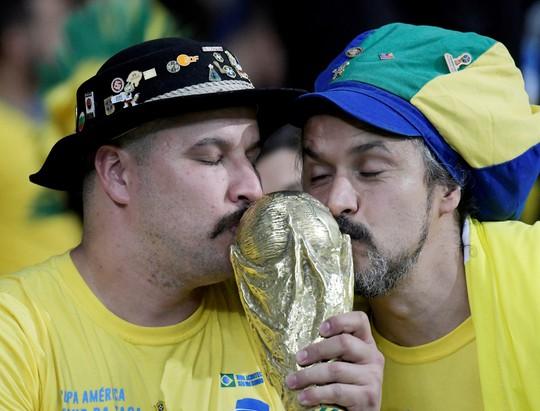 Quật ngã á quân Argentina, Brazil vào chung kết Copa America - Ảnh 11.