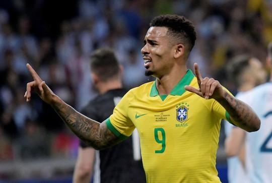 Quật ngã á quân Argentina, Brazil vào chung kết Copa America - Ảnh 4.
