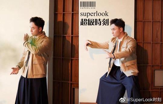 Thần đồng Thiếu Lâm Thích Tiểu Long điển trai và phong độ ở tuổi 31 - Ảnh 2.