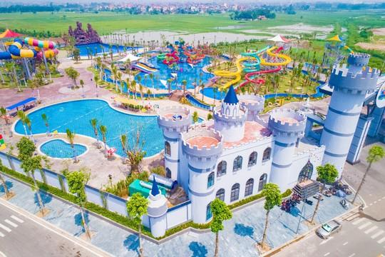 Công viên nước Thanh Hà gây sốt trên mạng xã hội - Ảnh 2.