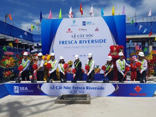 Tổ chức lễ Cất nóc dự án Fresca Riverside - Ảnh 1.