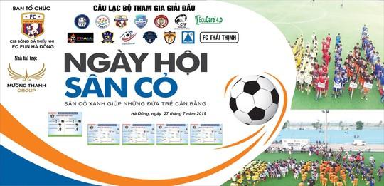 Ngày hội sắc màu trên sân cỏ tại khu liên hợp thể thao Thanh Hà - Ảnh 1.