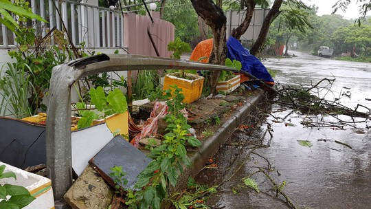 Cận cảnh nơi bão số 2 vừa quét qua - Ảnh 11.