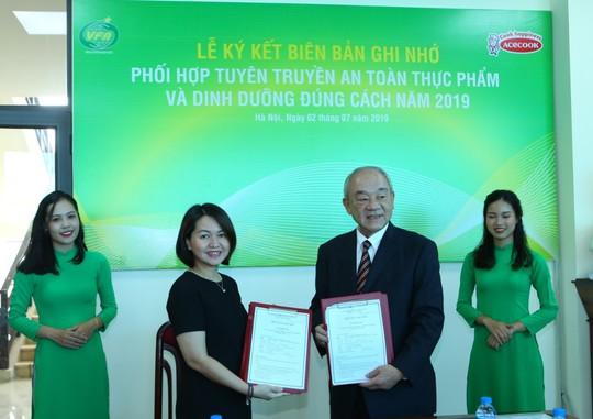 Cục ATTP và Acecook Việt Nam hợp tác nâng cao nhận thức cộng đồng về an toàn thực phẩm - Ảnh 1.