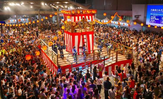 Đến Nhật Bản vào mùa lễ hội lớn nhất năm - Ảnh 1.