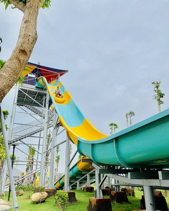Một ngày trải nghiệm thú vị tại công viên nước Thanh Hà - Ảnh 13.