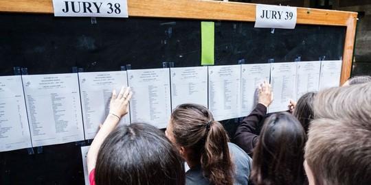 Học sinh Pháp hoang mang vì giáo viên đình công không trả điểm thi - Ảnh 1.