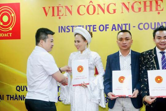 Nữ hoàng Văn hoá tâm linh làm Phó Ban Phát triển Thương hiệu và Chống hàng giả Việt Nam - Ảnh 1.