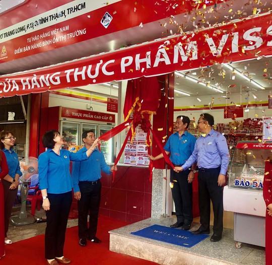 Khai trương cửa hàng Công đoàn đầu tiên của VISSAN - Ảnh 1.