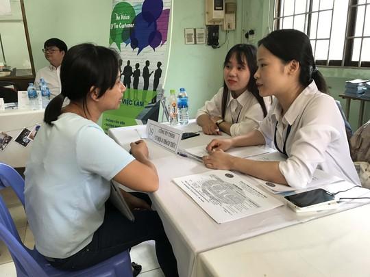 Cơ hội việc làm cho người lao động và sinh viên - Ảnh 1.