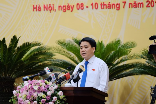Ông Nguyễn Đức Chung nói thẳng những vấn đề nóng của Hà Nội - Ảnh 1.