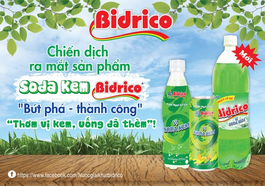 Bidrico tung chiến dịch quảng bá sản phẩm mới - Ảnh 1.