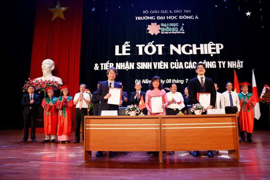 Đại học Đông Á: Tiếp nhận sinh viên làm việc tại Nhật ngay trong lễ tốt nghiệp - Ảnh 2.