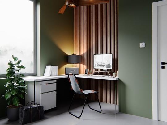 Ý tưởng bố trí phòng làm việc tại nhà tiện nghi - Ảnh 2.