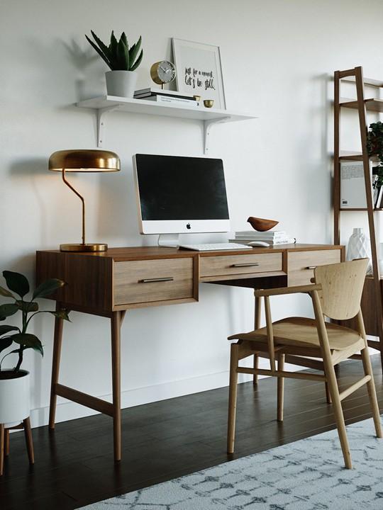 Ý tưởng bố trí phòng làm việc tại nhà tiện nghi - Ảnh 12.