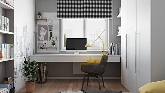 Ý tưởng bố trí phòng làm việc tại nhà tiện nghi - Ảnh 3.