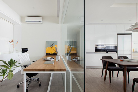 Ý tưởng bố trí phòng làm việc tại nhà tiện nghi - Ảnh 4.