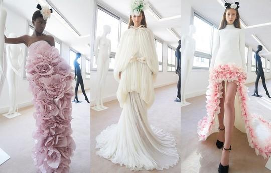 Những bộ đầm được làng mốt khen ngợi ở Tuần thời trang Paris - Ảnh 9.