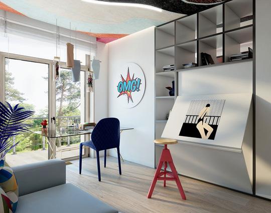 Ý tưởng bố trí phòng làm việc tại nhà tiện nghi - Ảnh 10.