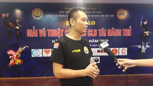 Hơn 50 đoàn võ thuật tranh tài tại Giải Võ thuật các CLB tài năng trẻ Việt Nam - Ảnh 1.