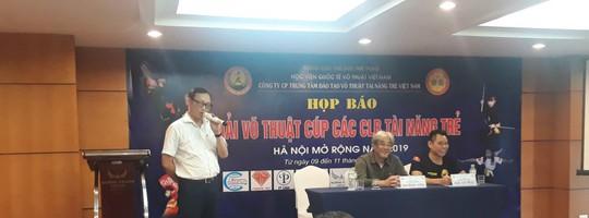 Hơn 50 đoàn võ thuật tranh tài tại Giải Võ thuật các CLB tài năng trẻ Việt Nam - Ảnh 3.