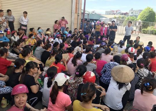 Tìm hướng giải quyết quyền lợi cho công nhân Công ty TNHH KaiYang Việt Nam - Ảnh 1.