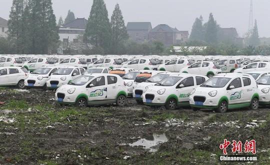 Sau xe đạp, hàng trăm ngàn ôtô bị vứt bỏ tại Trung Quốc - Ảnh 4.