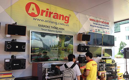 Chủ sở hữu karaoke Arirang bán đứt thương hiệu và thanh lý toàn bộ hàng tồn kho - Ảnh 1.