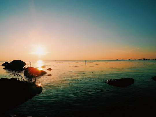 Về Phú Quý hát bài ca tôm cá - Ảnh 23.