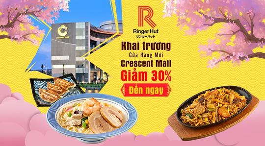 Khai trương nhà hàng Ringer Hut thứ 2 tại Crescent Mall - Ảnh 1.
