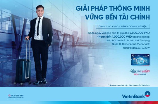 Nhận ưu đãi đến 3,8 triệu đồng khi mở thẻ DCI VietinBank - Ảnh 1.