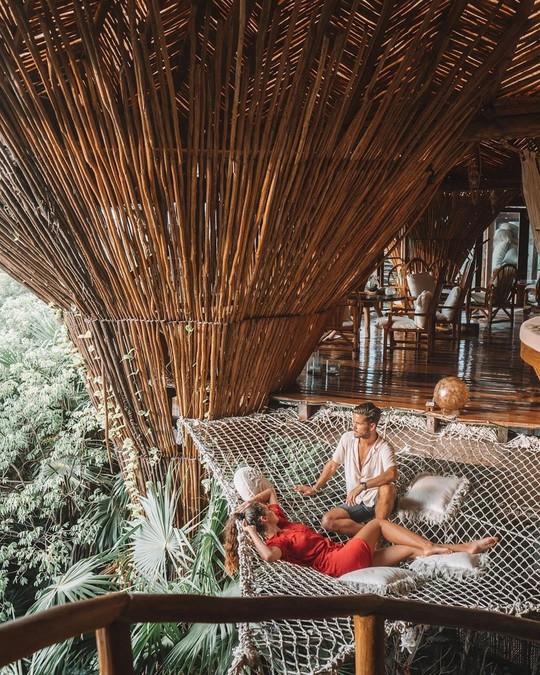 Khu nghỉ dưỡng cheo leo trên cây, cấm du khách dưới 18 tuổi - Ảnh 6.