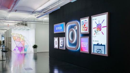 Đột nhập văn phòng làm việc toàn góc sống ảo của Instagram - Ảnh 1.