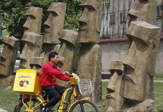Bản sao cầu Vàng, tháp Eiffel ở Trung Quốc gây chú ý mạng - Ảnh 11.