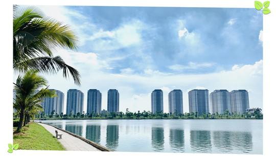 Bên trong khu đô thị phủ xanh giữa lòng Hà Nội - Ảnh 3.