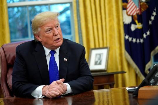 Tổng thống Trump nóng mặt với phát ngôn của Thủ tướng Đan Mạch - Ảnh 1.