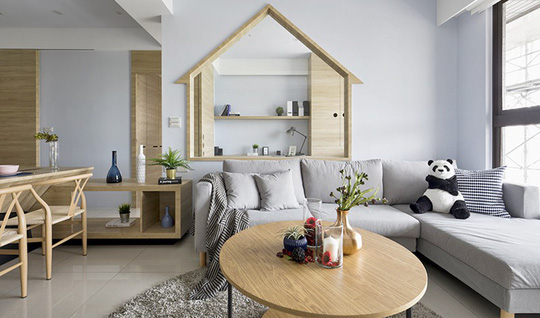 Ngôi nhà đơn giản mà đẹp của gia đình trẻ - Ảnh 1.