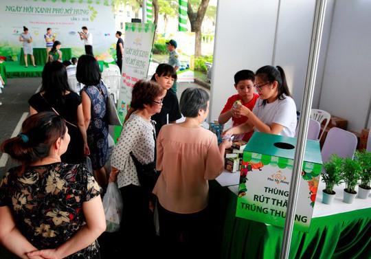 Trúng thưởng bất ngờ tại Ngày hội Xanh Phú Mỹ Hưng 2019 - Ảnh 1.