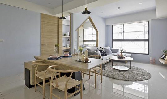 Ngôi nhà đơn giản mà đẹp của gia đình trẻ - Ảnh 3.