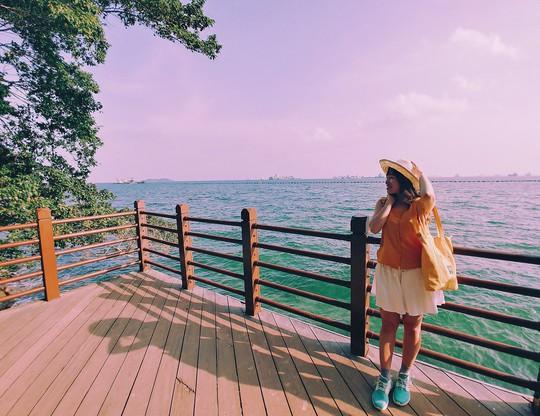 Từ mưa trong nhà đến nấc thang lên thiên đường, ra mà xem Singapore ngát xanh này! - Ảnh 15.