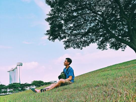 Từ mưa trong nhà đến nấc thang lên thiên đường, ra mà xem Singapore ngát xanh này! - Ảnh 2.