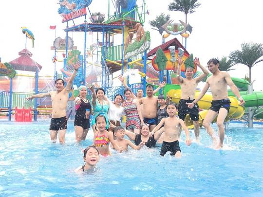 Công viên nước Thanh Hà - Mường Thanh tưng bừng khuyến mãi nhân dịp Quốc khánh 2-9 - Ảnh 4.