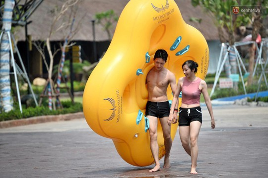 Công viên nước Thanh Hà - Mường Thanh tưng bừng khuyến mãi nhân dịp Quốc khánh 2-9 - Ảnh 8.