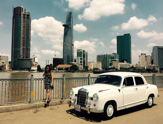 Đã mắt ngắm dàn xe cổ diễu hành kỷ niệm Hội An, Mỹ Sơn - Ảnh 15.