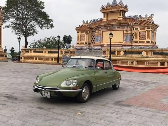 Đã mắt ngắm dàn xe cổ diễu hành kỷ niệm Hội An, Mỹ Sơn - Ảnh 5.