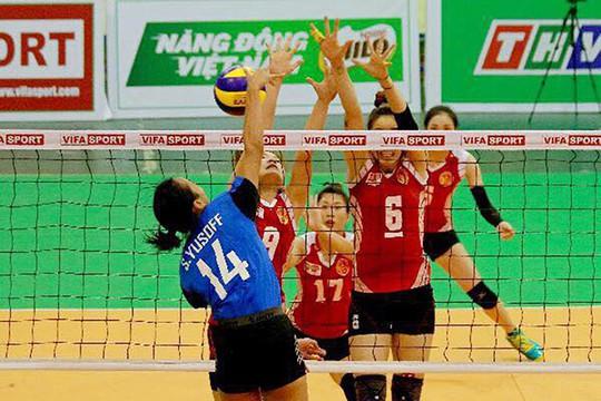 Giải Bóng chuyền quốc tế Truyền hình Vĩnh Long 2019: Đinh Thị Thúy trở lại ấn tượng - Ảnh 1.