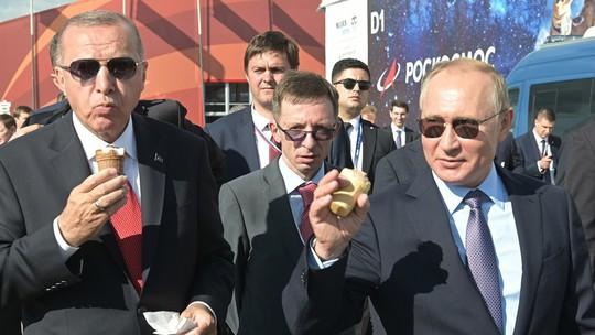 Hai ông Putin, Erdogan và chuyện cây kem - Ảnh 2.