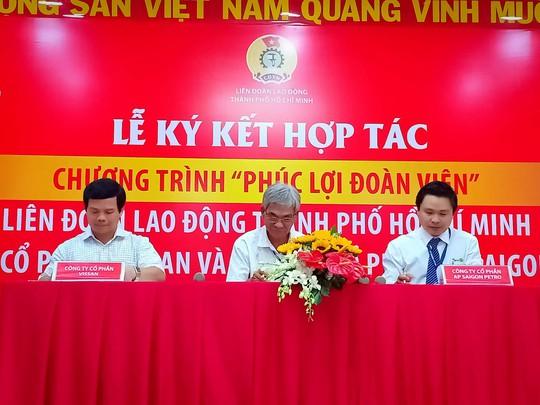 Vissan và Saigon Petro bán hàng giảm giá cho đoàn viên Công đoàn - Ảnh 3.