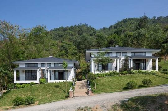 Ngôi nhà kiểu Nhật giữa lưng chừng núi Hòa Bình - Ảnh 1.