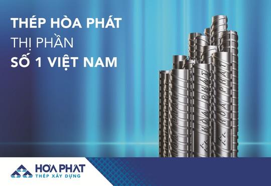 Thép Hòa Phát tiêu thụ hơn 235.000 tấn trong tháng 7 - Ảnh 1.